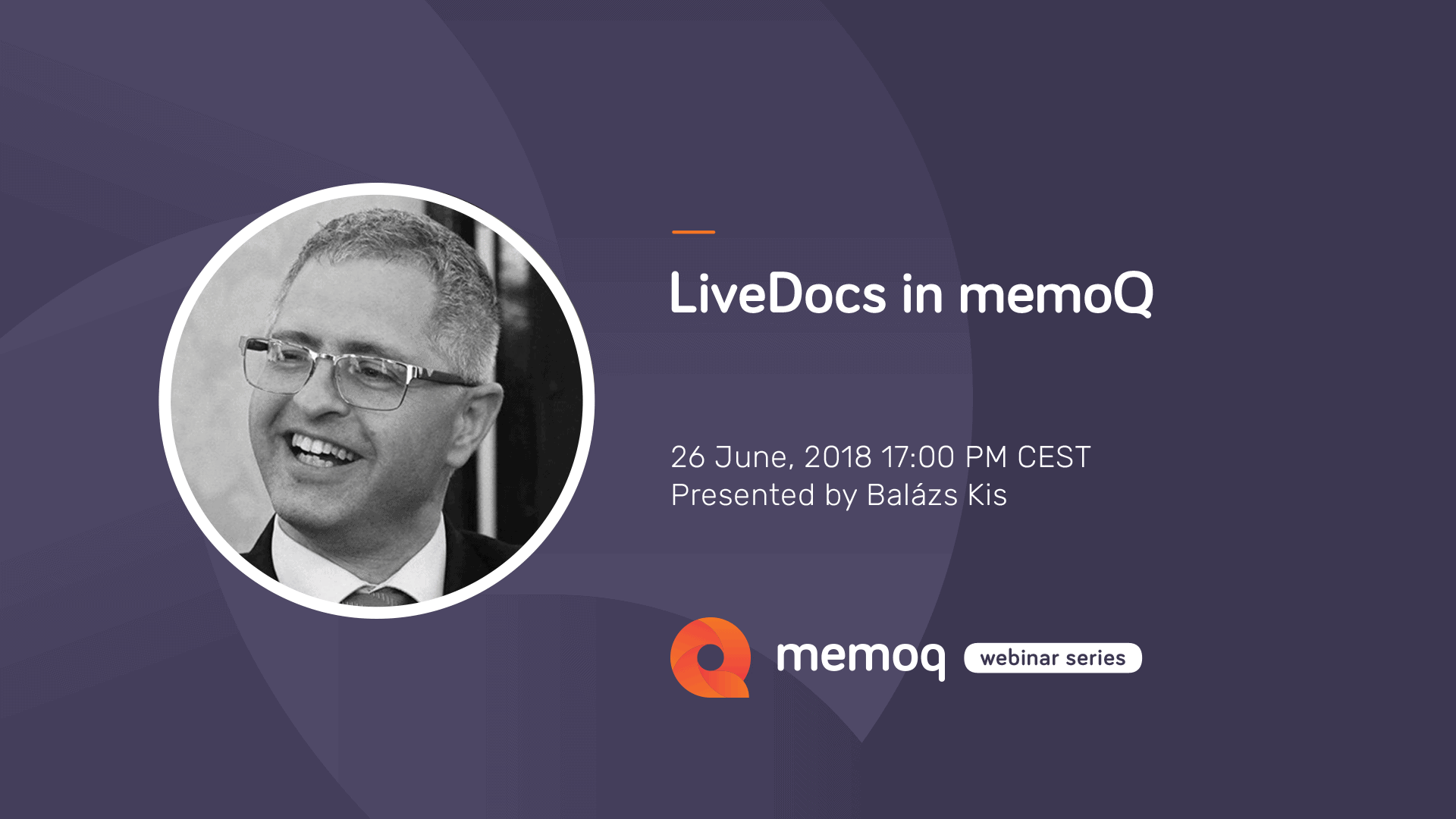 LiveDocs webinar - memoQ
