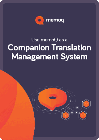 memoQ companion TMS eBook