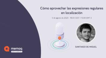 Santiago de Miguel Webinar memoQ